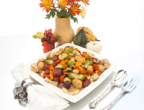 Thanksgiving Cornucopia of Roasted Vegetables