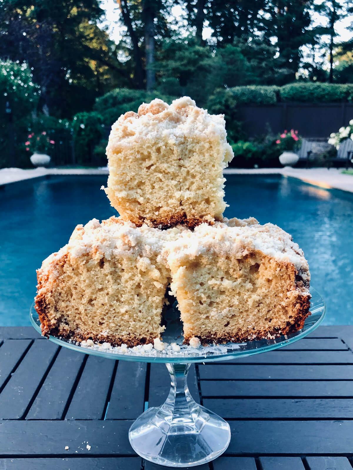 Nanny's Butter Streusel Cake