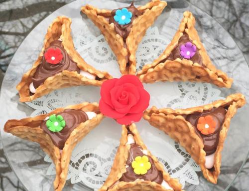 Pizzele Nutella Hamantaschen