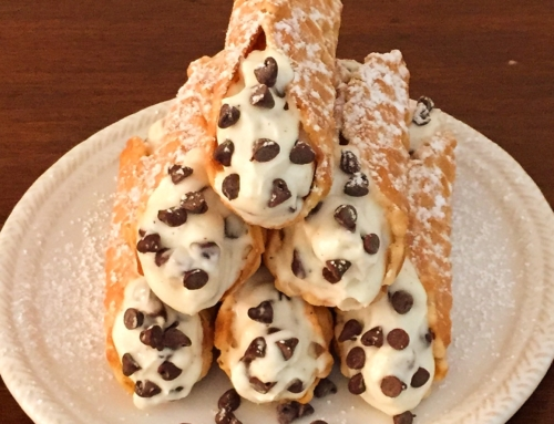 Pizzelle Cannoli