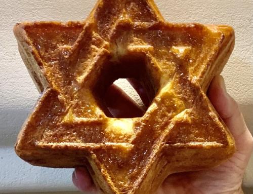 Star of David Bundt Challah