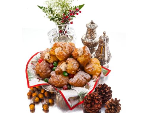 Sfinge (Italian Doughnuts Filled with Ricotta)
